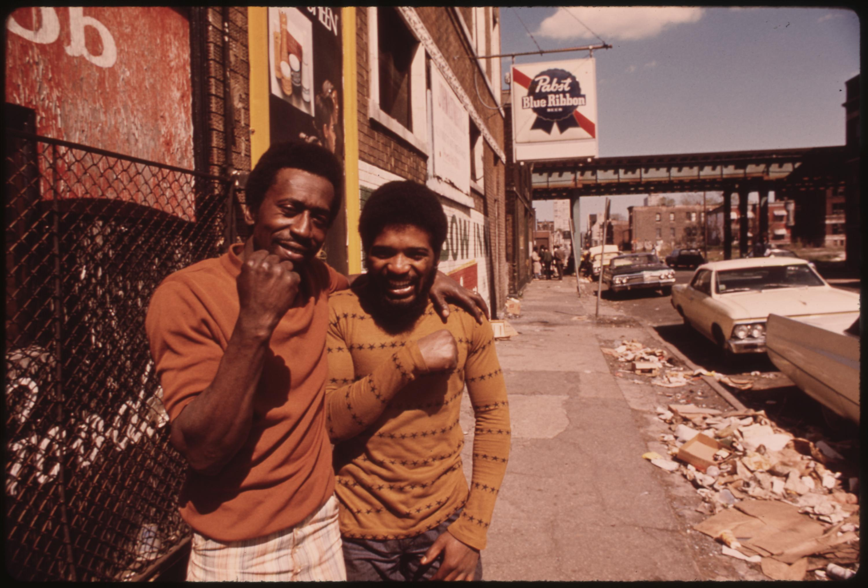 Chicago Ghetto On The South Side. John H White